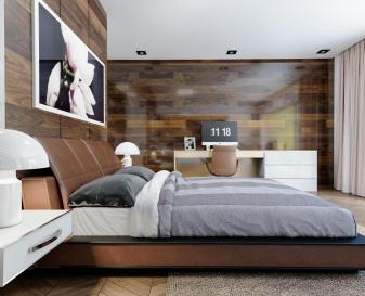 Ways Make Statement Wood Walls Bedroom