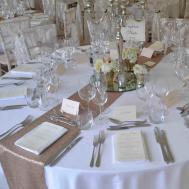 Wedding Table Runners Round Tables Temasistemi