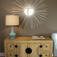 Weekend Diy Sunburst Wall Mirror