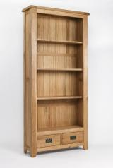 Westbury Oak Tall Bookcase Bookcases