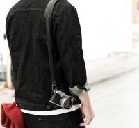Westminster Leather Camera Strap Black Leica Nikon