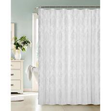 White Fabric Shower Curtains Curtain Menzilperde