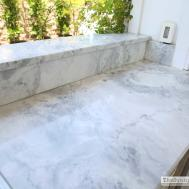 White Granite Countertops Look Like Marble