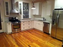 White Kitchen Cabinets Stainless Appliances Quicua