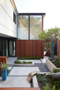White Mahogany Palette Revitalizes 1962 Eichler Home