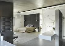 White Marble Bedroom Design Interior Ideas