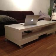 White Simple Stylish Lack Coffee Table