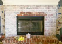 Whitewashing Brick Fireplace Joy Studio Design