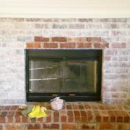 Whitewashing Brick Fireplace Joy Studio Design