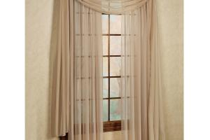 Window Patterned Sheers Sheer Curtains Drapes