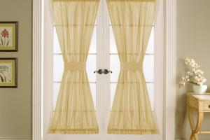 Window Treatments French Doors Ideas Eva Furniture