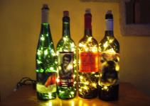 Wine Bottle Accent Light