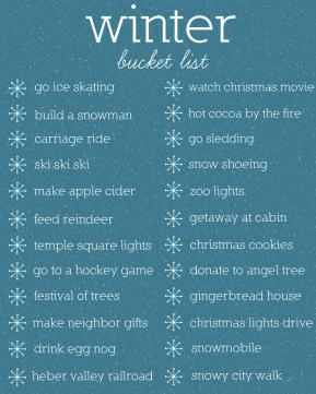 Winter Bucket List Archives Wood Connection Blog