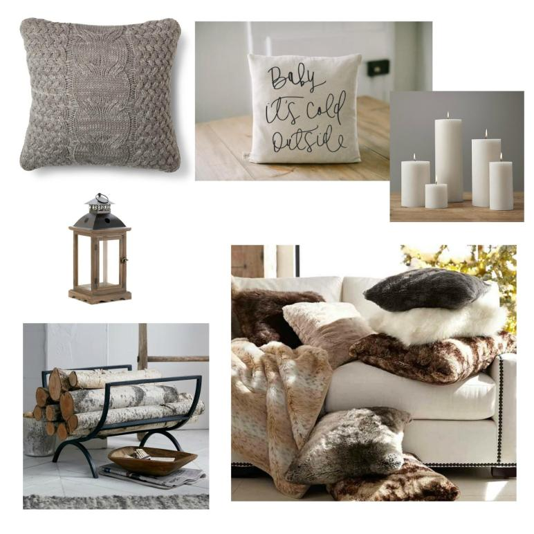 Winter Decor Ideas 2016 Seeking Lavendar Lane