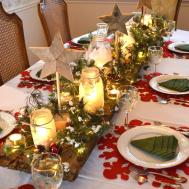 Winter Wonderland Christmas Tablescape Her Tool Belt