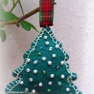 Wip Wednesday Felt Christmas Tree Ornament Tutorial