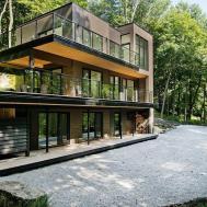 Wonderful Modern Forest House Design Solid Building