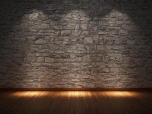 Wonderful Stone Wall Interior Ideas Nuanced Cool Grey