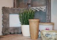 Wood Retro Wall Decoration Ceramic