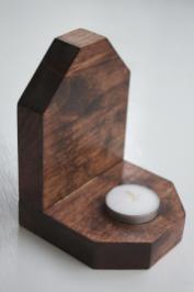 Wooden Candle Holder Storenvy