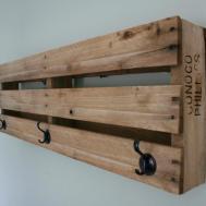 Wooden Coat Rack Shelf Pretty Harakiri