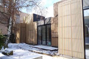 Wooden Frame House Samuel Delmas