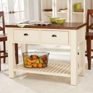 Wooden Kitchen Island Wheels Adorable
