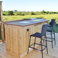 Wooden Outdoor Bar Plans Joy Studio Design