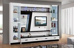 Wooden Wall Display Cabinets Vitrosa Maxi Glass