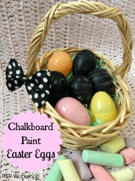 Workshop Diy Chalkboard Paint Easter Eggs