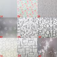 X16ft Glass Window Film Privacy Decorative Frosted