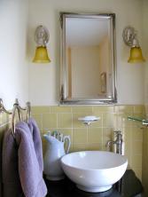 Yellow Bathroom Tile