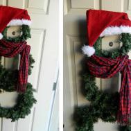 Young Restless Jalynn Diy Snowman Wreath