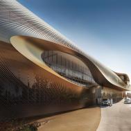 Zaha Hadid Urban Heritage Administration Centre Diriyah