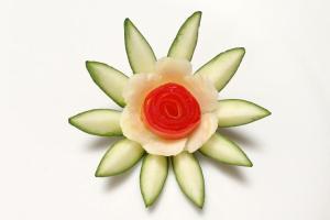 Zucchini New Ideas Flower Design Beginners Lesson