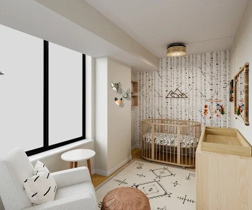 Here is our rad introductory guide to learn more about our design process. Forest Theme Nursery Interior Design Decorilla