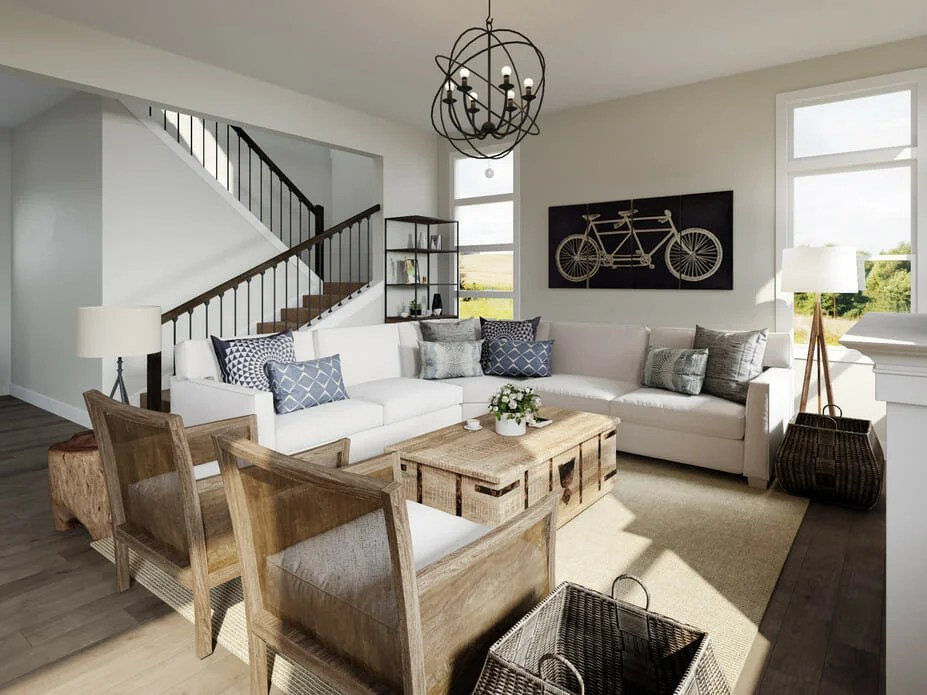 Before & After: Open Concept Modern Home Interior Design ... on Interior:ybeqvfpgwcq= Modern House  id=76553