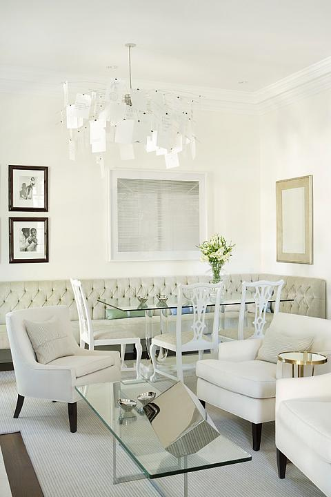 Tufted Dining Chairs Design Ideas