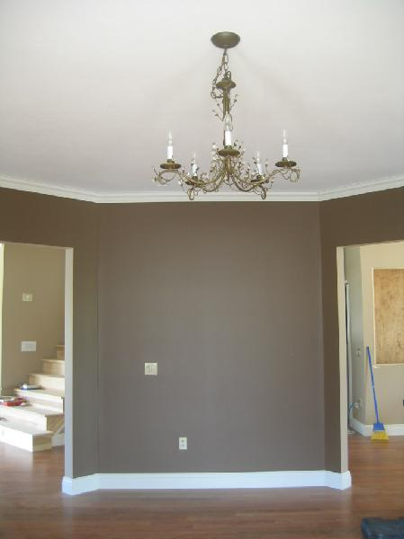 Brown Walls Transitional Miscellaneous Sherwin Williams Cobble Brown