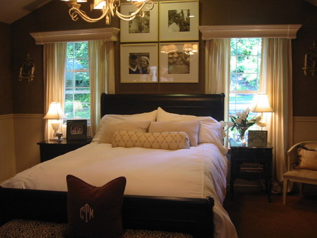 chocolate brown bedroom transitional bedroom ralph on small laundry room paint ideas with brown furniture colors id=57227
