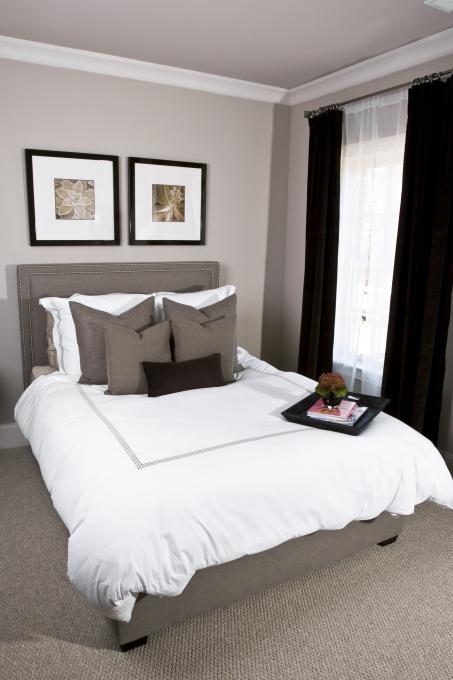 Gray Bedroom - Contemporary - bedroom - Sherwin Williams ...