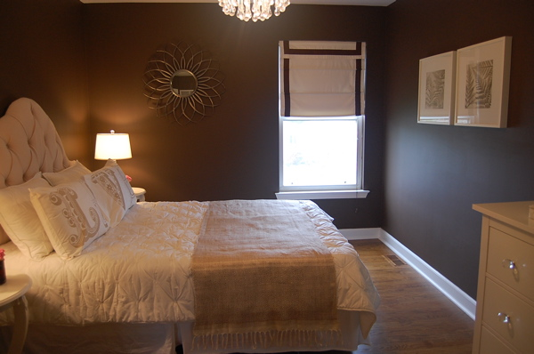 Benjamin Moore Clinton Brown Bedroom