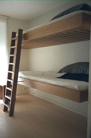 Floating Bunk Beds Modern Boys Room