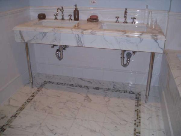 calcutta marble washstand