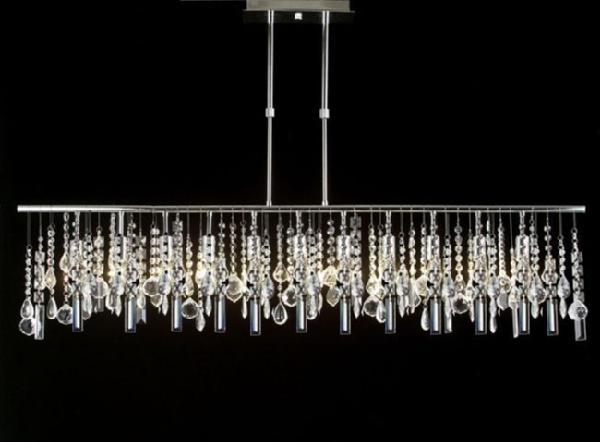 Gallery Modern Contemporary 11 Light Crystal Lighting Pendant