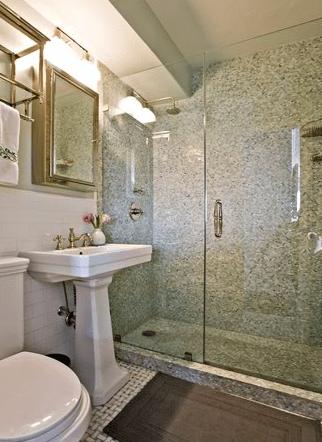 Bathroom With Subway Tiles Contemporary Bathroom