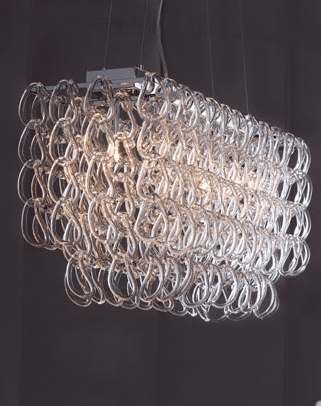 Horchow Rectangular Chandelier View Full Size