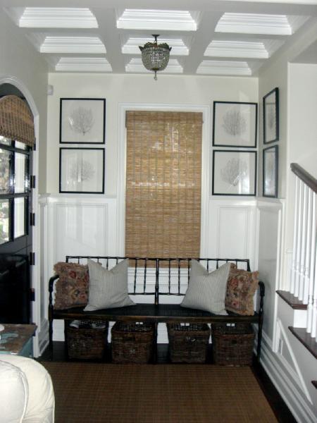 Framed Sea Fans Cottage Entrance Foyer Dunn Edwards