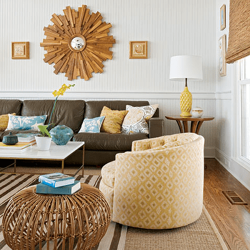 Yellow and brown living room decorating ideas for Yellow and brown living room decorating ideas