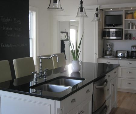 Dual KItchen Sink Traditional Kitchen Benjamin Moore